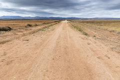 Rode landweg Stock Afbeelding