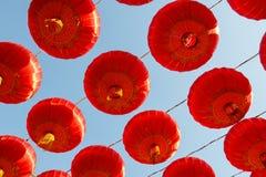 Rode lantaarn stock afbeeldingen