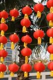Rode lantaarn Royalty-vrije Stock Fotografie