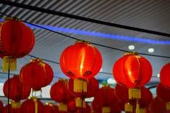 Rode lantaarn ter gelegenheid van de Chinezen Royalty-vrije Stock Fotografie