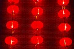 Rode lantaarn voor het Festival van de Lente royalty-vrije stock foto