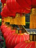 Rode lantaarns Stock Fotografie