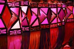 Rode Lantaarns Stock Afbeelding