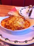 Rode Lasagna's Stock Afbeeldingen