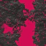 Rode lava Stock Foto