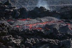 Rode lava Royalty-vrije Stock Afbeelding