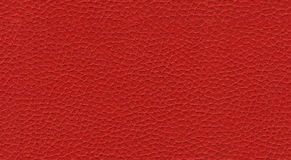 Rode leer naadloze textuur stock afbeelding