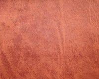 Rode Leerachtergrond - Voorraadfoto's Royalty-vrije Stock Foto's