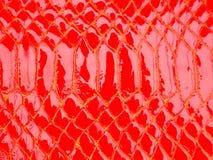 Rode leertextuur Royalty-vrije Stock Afbeelding