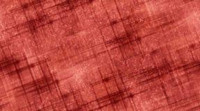 Rode Lijnen en Sterren Stock Afbeeldingen