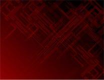 Rode lijnen op donkere achtergrond Royalty-vrije Stock Afbeelding