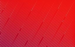 Rode lijntextuur op een diagonale achtergrond Stock Afbeelding