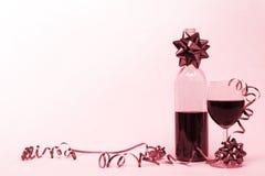 Rode linten stock afbeeldingen