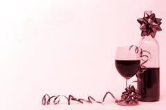 Rode linten royalty-vrije stock afbeelding