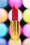 Rode lippenstift Royalty-vrije Stock Afbeelding