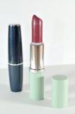 Rode lippenstift Royalty-vrije Stock Afbeeldingen