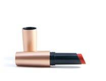 Rode lippenstift stock foto