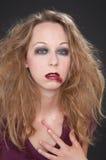 Rode lippenstift Stock Fotografie