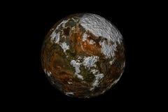 Rode Maan Royalty-vrije Stock Afbeelding