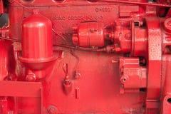 Rode machine Stock Foto