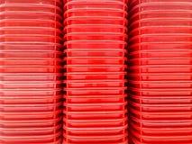 Rode mand voor achtergrond stock illustratie