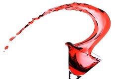 Rode Martini royalty-vrije stock foto