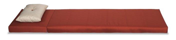 Rode matras Stock Foto