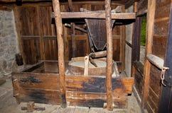 Rode molen Royalty-vrije Stock Afbeeldingen