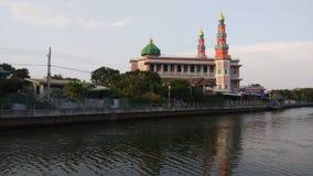 Rode Moskee in Bangkok, Thailand stock footage