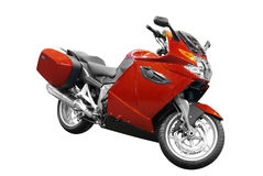 Rode motor Royalty-vrije Stock Afbeelding