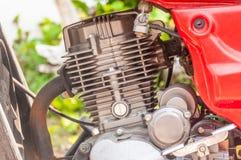 Rode motor Royalty-vrije Stock Foto