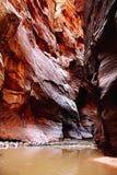 Rode muren Stock Afbeelding