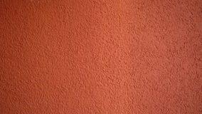 Rode muur van de bouw stock video