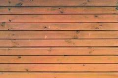 Rode muur van houten raad Stock Foto