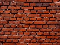 Rode muurachtergrond Stock Fotografie