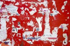 Rode muurachtergrond stock afbeeldingen