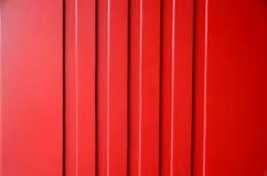 Rode muurdetails Stock Foto