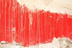 Rode muursamenvatting Royalty-vrije Stock Foto's