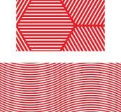 Rode naadloze patronen als achtergrond Royalty-vrije Stock Foto