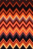 Rode naadloze van het patroon abstracte blozende rosse van de Chevronzigzag de kunstachtergrond, tendensen stock illustratie