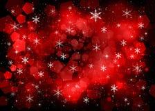 rode nieuwe jaarachtergrond stock foto's