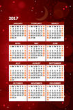Rode Nieuwe Year& x27; s Royalty-vrije Stock Fotografie