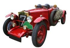 Rode oldtimer Royalty-vrije Stock Fotografie