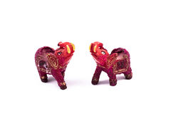 Rode olifant Royalty-vrije Stock Fotografie