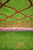 Rode omheining Stock Foto