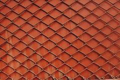 Rode omheining Royalty-vrije Stock Afbeeldingen