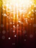 Rode oranje abstracte achtergrond Royalty-vrije Stock Afbeeldingen
