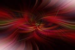 Rode oranje zwarte gekleurde abstracte patronen Het Art. van het conceptencontrast stock illustratie