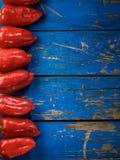 Rode organische peper royalty-vrije stock afbeelding