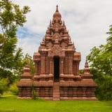 Rode oude pagode Stock Afbeeldingen